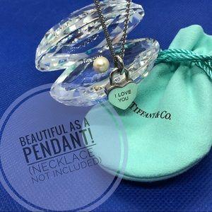 Tiffany & Co. I Love You Padlock Charm Pendant